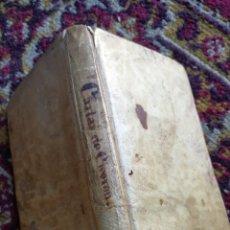 Libros antiguos: CARTAS DE CICERÓN- D.RODRIGO DE OVIEDO, 3° EDICIÓN- IMPRENTA DE BRUSI, 1818, EN PERGAMINO.. Lote 142857812