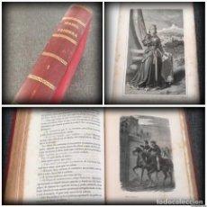 Libros antiguos: ISABEL PRIMERA (1853, PRIMERA EDICIÓN) - 1A PARTE: TOMOS 1 Y 2 - F. J. ORELLANA - MÚLTIPLES GRABADOS. Lote 144654138