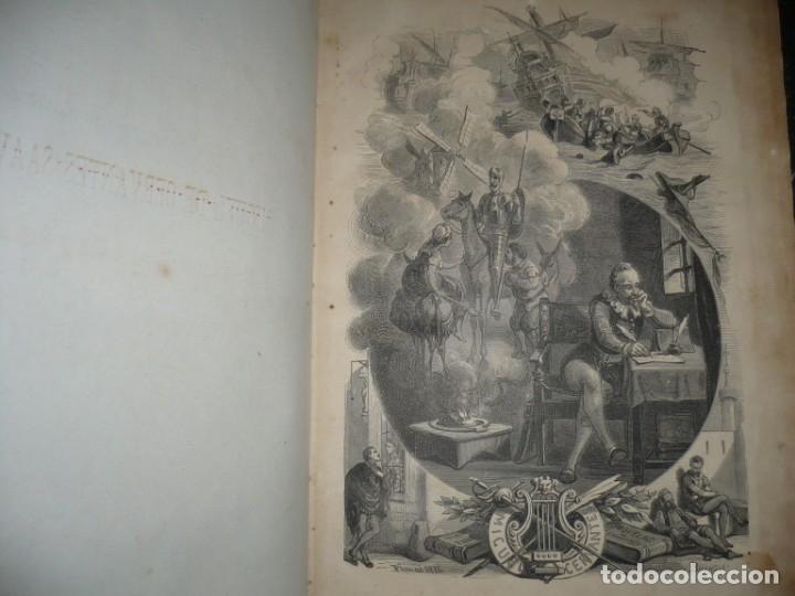 Libros antiguos: EL PRINCIPE DE LOS INGENIOS MIGUEL DE CERVANTES SAAVEDRA MANUEL FERNANDEZ GONZALEZ S/F BARCELONA - Foto 5 - 145545918