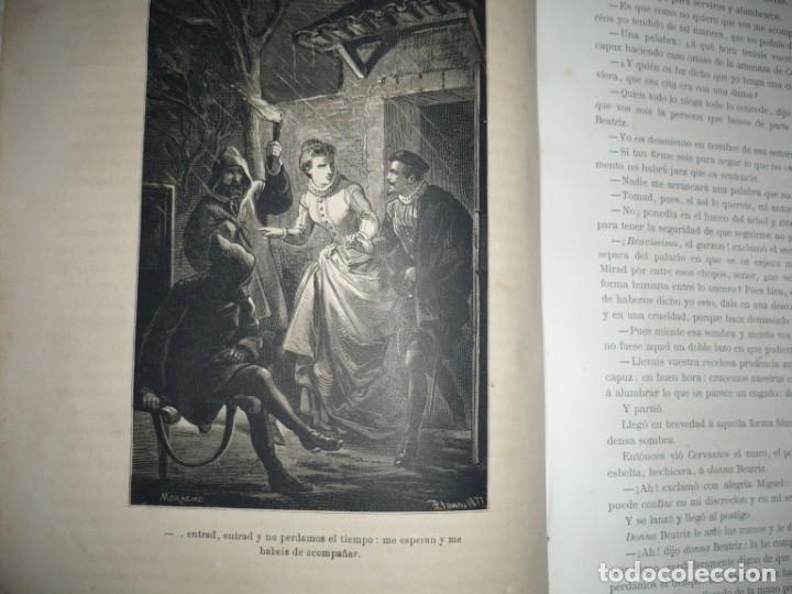 Libros antiguos: EL PRINCIPE DE LOS INGENIOS MIGUEL DE CERVANTES SAAVEDRA MANUEL FERNANDEZ GONZALEZ S/F BARCELONA - Foto 6 - 145545918