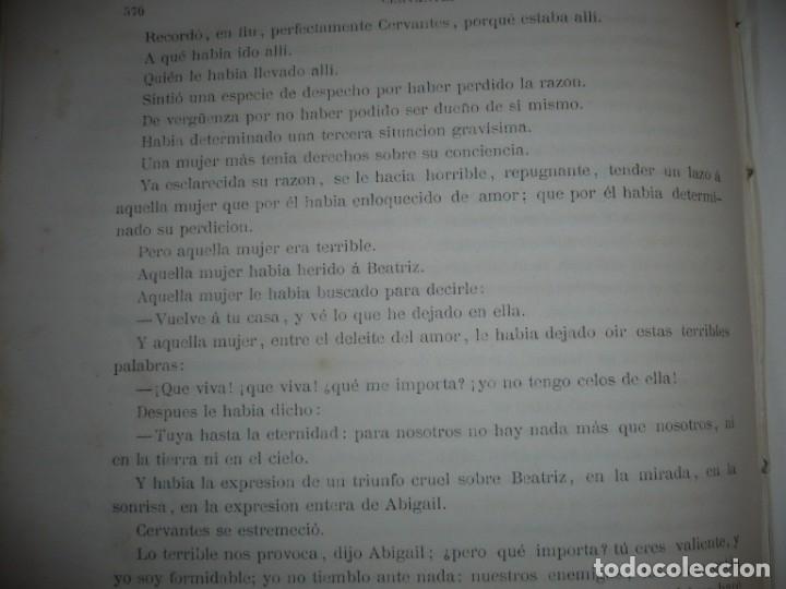 Libros antiguos: EL PRINCIPE DE LOS INGENIOS MIGUEL DE CERVANTES SAAVEDRA MANUEL FERNANDEZ GONZALEZ S/F BARCELONA - Foto 9 - 145545918