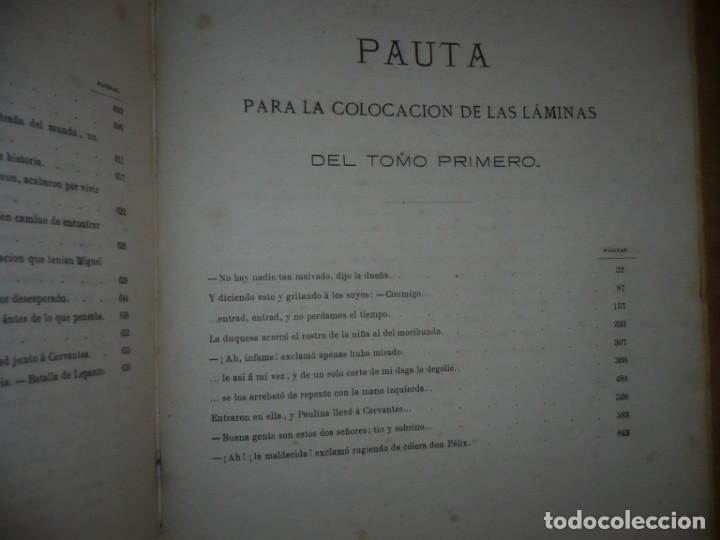 Libros antiguos: EL PRINCIPE DE LOS INGENIOS MIGUEL DE CERVANTES SAAVEDRA MANUEL FERNANDEZ GONZALEZ S/F BARCELONA - Foto 10 - 145545918