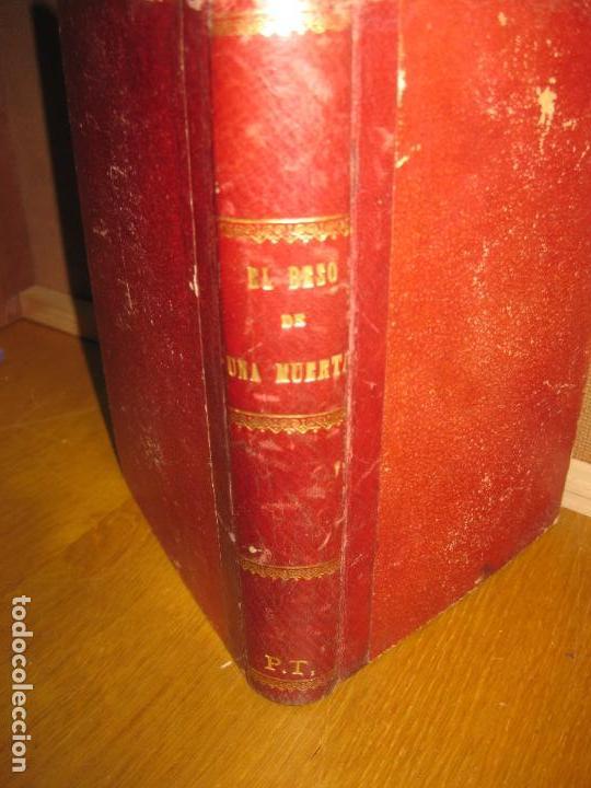 CAROLINA INVERNIZIO. EL BESO DE UNA MUERTA. NOVELA HISTORICA SOCIAL. BIBLIOTECA DE LAS NOTICIAS 1900 (Libros antiguos (hasta 1936), raros y curiosos - Literatura - Narrativa - Novela Histórica)
