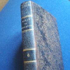 Libros antiguos: OBRAS DRAMÁTICAS Y LÍRICAS DE LEANDRO FERNÁNDEZ DE MORATIN, 1834. Lote 146540200