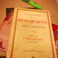 Libros antiguos: EL INGENIOSO HIDALGO DON QUIJOTE DE LA MANCHA - MIGUEL DE CERVANTES -EDI AUSTRAL 2005 CONMEMORATIVA . Lote 146656710