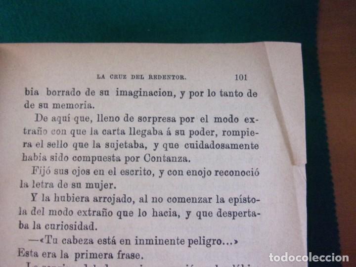 Libros antiguos: LA CRUZ DEL REDENTOR O EL TRIUNFO DE LA FE / J. Conde de Salazar y Souleret / Tomos I y II / Raro - Foto 3 - 146850326