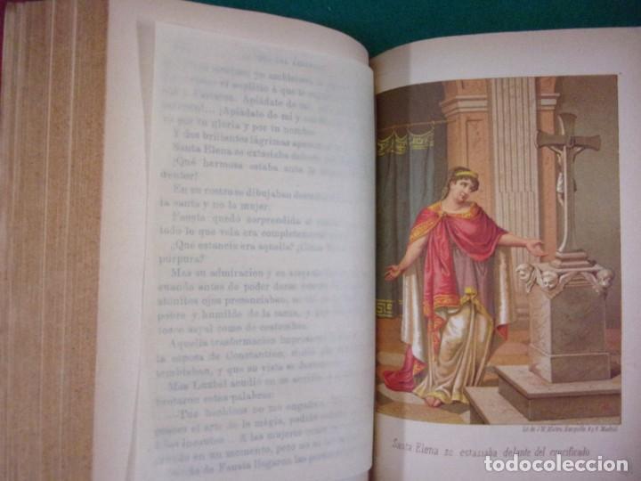 Libros antiguos: LA CRUZ DEL REDENTOR O EL TRIUNFO DE LA FE / J. Conde de Salazar y Souleret / Tomos I y II / Raro - Foto 5 - 146850326
