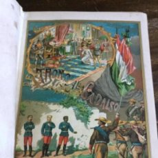 Libros antiguos: DEL TRONO AL CADALSO. EDUARDO BLASCO. 1886. 2 TOMOS. Lote 147039730