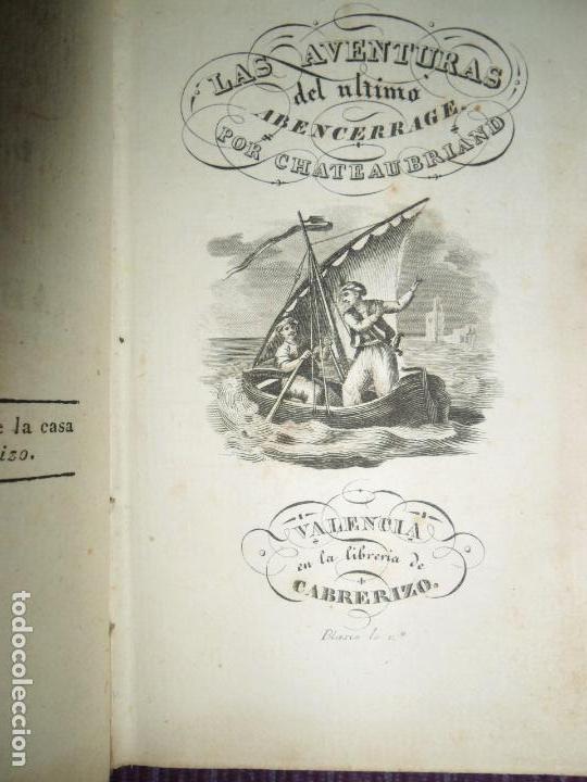 LAS AVENTURAS DEL ÚLTIMO ABENCERRAGE, CHATEUBRIAND, S/F, 1830 (Libros antiguos (hasta 1936), raros y curiosos - Literatura - Narrativa - Novela Histórica)