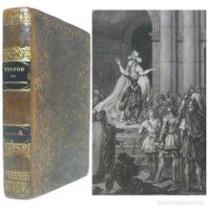 Libros antiguos: 1843 - 1ª ED. - FEDERICO SOULIÉ: SATANIEL. NOVELA HISTÓRICA - LÁMINA GRABADA - PLENA PIEL. Lote 147930630