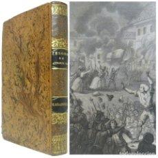 Libros antiguos: 1844 - 1ª ED. - DEFAUCONPRET: MASANIELLO, Ó LOS OCHOS DÍAS DE REVOLUCIÓN EN NÁPOLES (1647) - PIEL . Lote 147931510