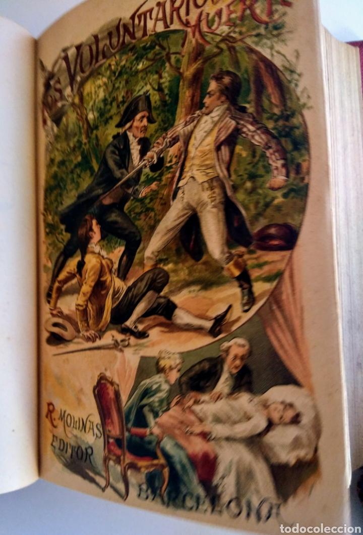 2 LIBROS. LOS VOLUNTARIOS DE LA MUERTE. EDUARDO DE BRAY. (Libros antiguos (hasta 1936), raros y curiosos - Literatura - Narrativa - Novela Histórica)