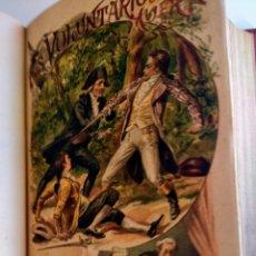 Libros antiguos: 2 LIBROS. LOS VOLUNTARIOS DE LA MUERTE. EDUARDO DE BRAY.. Lote 148785681