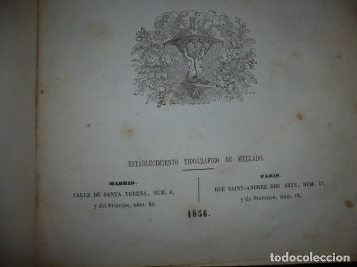 Libros antiguos: MUSEO DE LA FAMILIA PERIODICO MENSUAL DIRIGIDO POR MELLADO 1856 MADRID 2ªSERIE -AÑO 14 - Foto 4 - 149263466