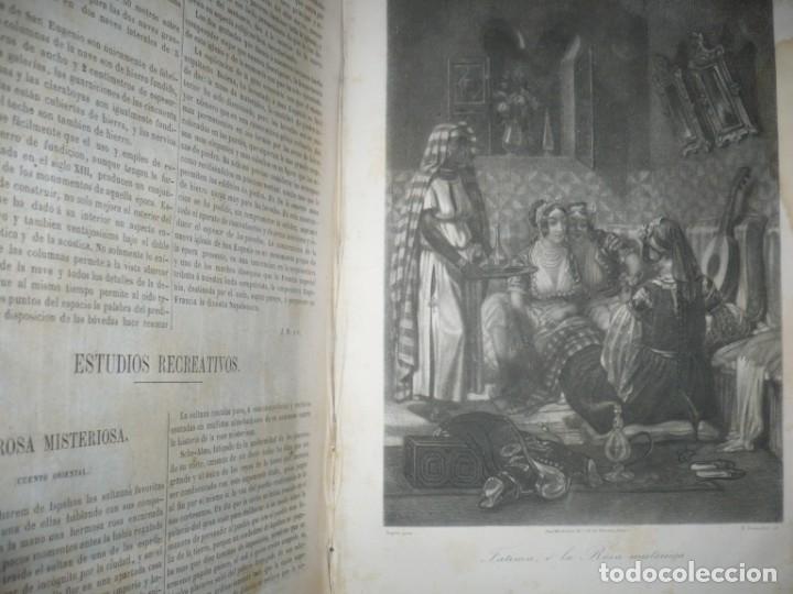 Libros antiguos: MUSEO DE LA FAMILIA PERIODICO MENSUAL DIRIGIDO POR MELLADO 1856 MADRID 2ªSERIE -AÑO 14 - Foto 8 - 149263466