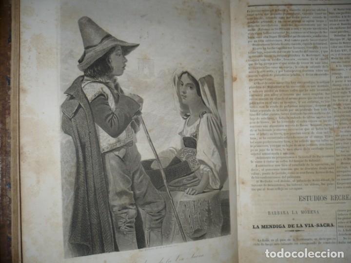 Libros antiguos: MUSEO DE LA FAMILIA PERIODICO MENSUAL DIRIGIDO POR MELLADO 1856 MADRID 2ªSERIE -AÑO 14 - Foto 6 - 149263466