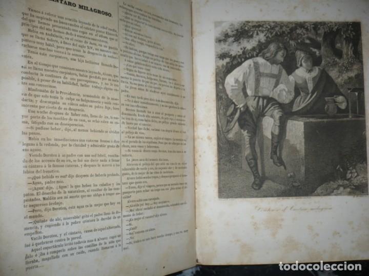 Libros antiguos: MUSEO DE LA FAMILIA PERIODICO MENSUAL DIRIGIDO POR MELLADO 1856 MADRID 2ªSERIE -AÑO 14 - Foto 7 - 149263466