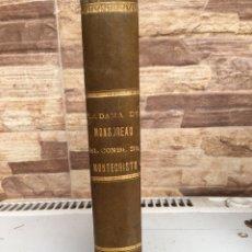 Libros antiguos: EL CONDE DE MONTECRISTO. Lote 215768921