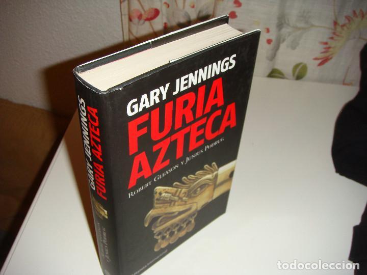 Libros antiguos: FURIA AZTECA: GARY JENNINGS - Foto 3 - 150951086