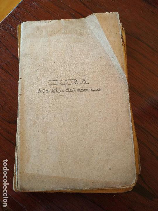 DORA O LA HIJA DEL ASESINO (1905) DE CAROLINA INVERNIZIO (Libros antiguos (hasta 1936), raros y curiosos - Literatura - Narrativa - Novela Histórica)