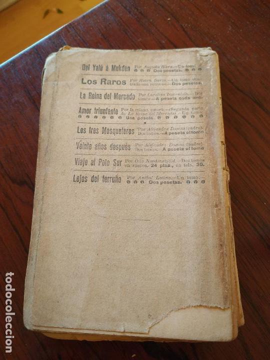 Libros antiguos: DORA O LA HIJA DEL ASESINO (1905) de Carolina Invernizio - Foto 2 - 151416110
