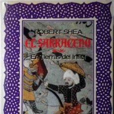 Libros antiguos: EL SARRACENO 1 Y 2 - COMPLETA (EN TIERRAS DEL INFIEL + LA GUERRA SANTA) ROBERT SHEA. Lote 152367166