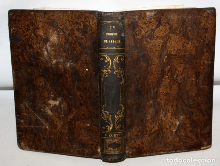 Libros antiguos: UN CORPUS DE SANGRE Ó LOS FUEROS DE CATALUÑA-1857-MANUEL ANGELON. - Foto 5 - 154457962