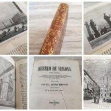 Libros antiguos: EL HEBREO DE VERONA (1857) - NOVELA HISTÓRICA... MISTERIOS DE LAS SOCIEDADES SECRETAS - TOMO SEGUNDO. Lote 155669842