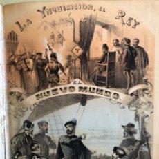Libros antiguos: INQUISICION- LA INQUISICION EL REY Y EL NUEVO MUNDO- FLORENCIO LUIS PARREÑO- MADRID 1.862. Lote 157237570