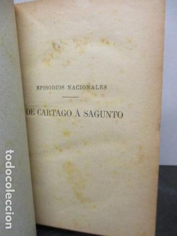 Libros antiguos: DE CARTAGO A SAGUNTO, BENITO PEREZ GALDOS - 1911 - Foto 15 - 50259240