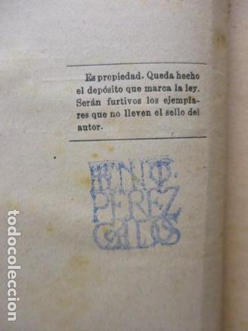 Libros antiguos: DE CARTAGO A SAGUNTO, BENITO PEREZ GALDOS - 1911 - Foto 16 - 50259240