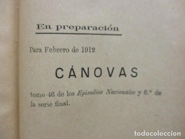 Libros antiguos: DE CARTAGO A SAGUNTO, BENITO PEREZ GALDOS - 1911 - Foto 20 - 50259240
