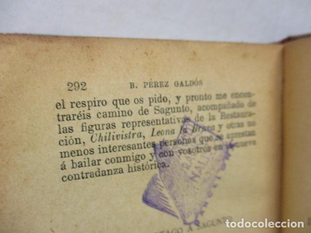 Libros antiguos: DE CARTAGO A SAGUNTO, BENITO PEREZ GALDOS - 1911 - Foto 23 - 50259240