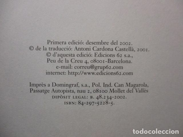 Libros antiguos: PASSATGERS ANGLESOS - LIBRO EN CATALÀ DE MATTHEW KNEALE - EDICIONS 62. - TAPA DURA - Foto 7 - 159675522