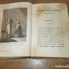 Libros antiguos: EL TALISMAN O RICARDO EN PALESTINA. SIR WALTER SCOTT. TOMO I .BARCELONA.J. F. PIFERRER,IMPRESOR.1826. Lote 162845342
