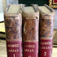 Libros antiguos: GOMEZ ARIAS O LOS MOROS DE LAS ALPUJARRAS.3 TOMOS, COMPLETA.NOVELA HISTORICA ORIGINAL DE 1831.TELESF. Lote 163397390