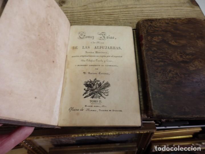 Libros antiguos: GOMEZ ARIAS O LOS MOROS DE LAS ALPUJARRAS.3 TOMOS, COMPLETA.NOVELA HISTORICA ORIGINAL DE 1831.TELESF - Foto 4 - 163397390