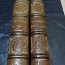 Libros antiguos: EL MARTIR DEL GÓLGOTA 1886. Lote 163411714