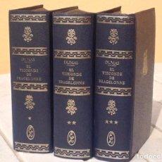 Libros antiguos: ALEJANDRO DUMAS: DIEZ AÑOS MÁS TARDE O EL VIZCONDE DE BRAGELONNE. Lote 165841406