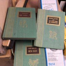 Libros antiguos: 3 NOVELAS TESORO VIEJO. EDICIONES RODEGAR. BARCELONA. . Lote 166788714