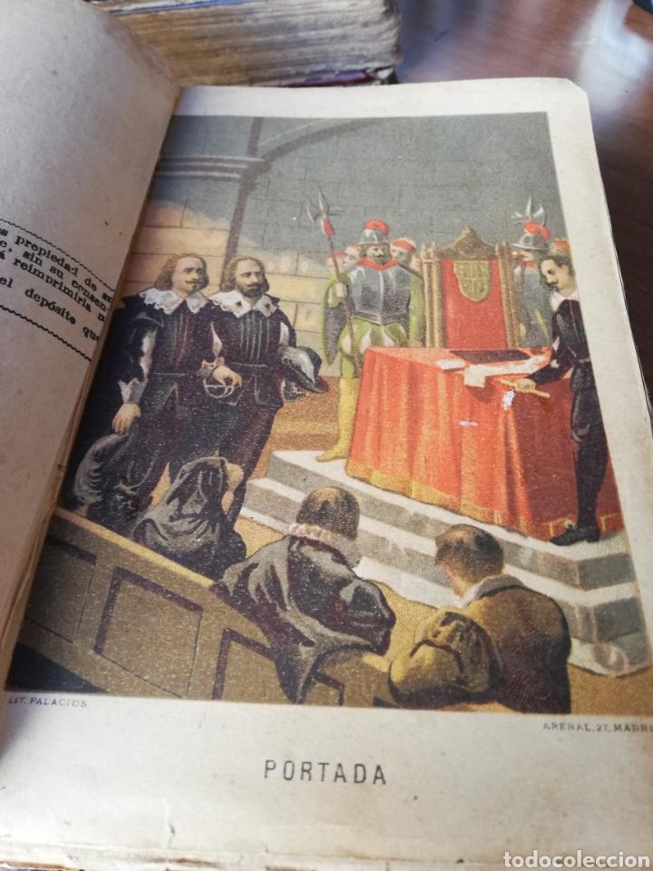Libros antiguos: LOS HEROES DEL SIGLO XVII. 1ª EDICIÓN FELIPE GONZALEZ ROJAS,1888. 2 VOLÚMENES COMPLETOS. VER FOTOS - Foto 4 - 167033452