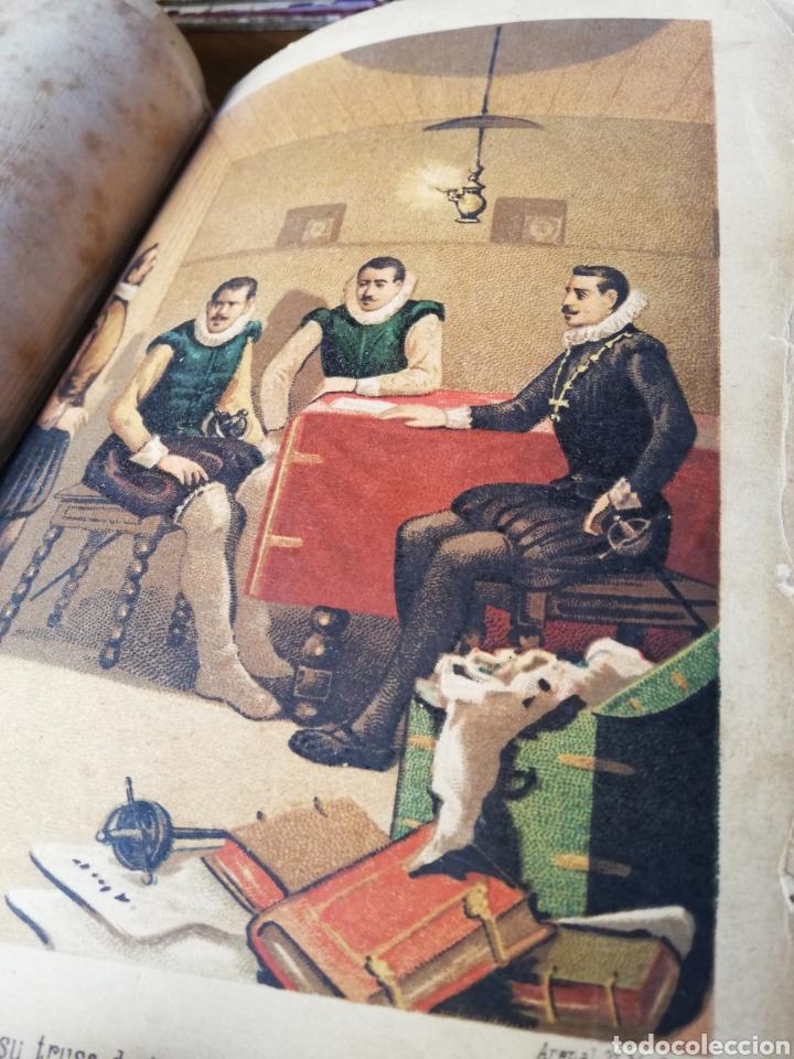 Libros antiguos: LOS HEROES DEL SIGLO XVII. 1ª EDICIÓN FELIPE GONZALEZ ROJAS,1888. 2 VOLÚMENES COMPLETOS. VER FOTOS - Foto 9 - 167033452