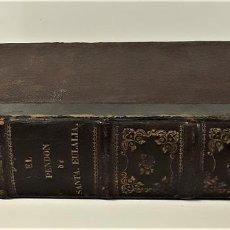 Libros antiguos: EL PENDÓN DE SANTA EULALIA, Ó LOS FUEROS DE CATALUÑA. M. ANGELON. MADRID. 1858.. Lote 167406248