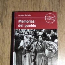Libros antiguos: MEMORIAS DEL PUEBLO DE AMPARO HURTADO. Lote 167835704