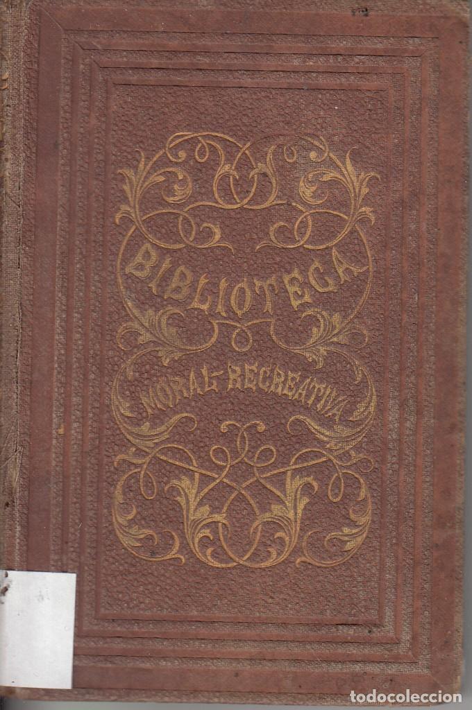 CRISTOBAL SCHMID. HIRLANDA CONDESA DE BRETAÑA - MARÍA. JUAN ROCA Y BROS, BARCELONA 1864. (Libros antiguos (hasta 1936), raros y curiosos - Literatura - Narrativa - Novela Histórica)