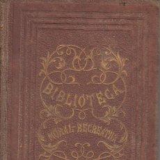 Libros antiguos: CRISTOBAL SCHMID. HIRLANDA CONDESA DE BRETAÑA - MARÍA. JUAN ROCA Y BROS, BARCELONA 1864.. Lote 169201928