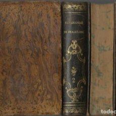 Libros antiguos: EL VIZCONDE DE BRAGELONNE, DE ALEJANDRO DUMAS. 4 TOMOS. (MURCIA Y MARTÍ EDS, MADRID, 1860-1). Lote 170173856