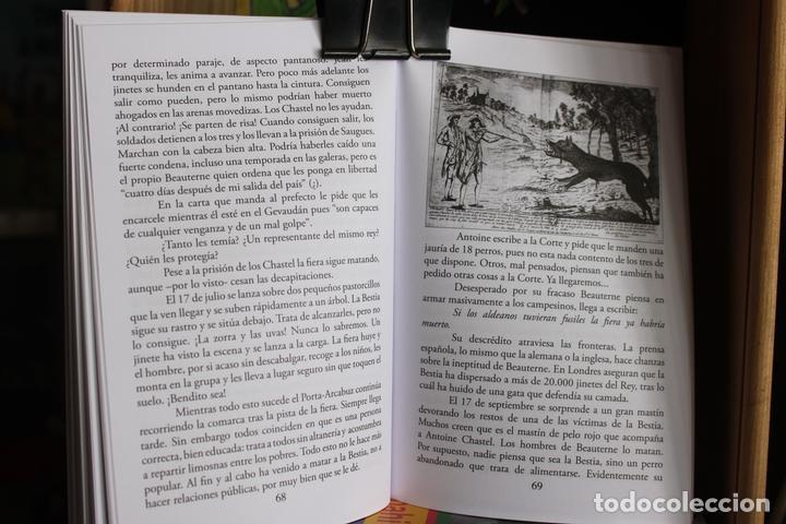 Libros antiguos: La Bestia (Del Gevaudan) (Una historia real) Antonio Ruiz Vega - Foto 2 - 171334083