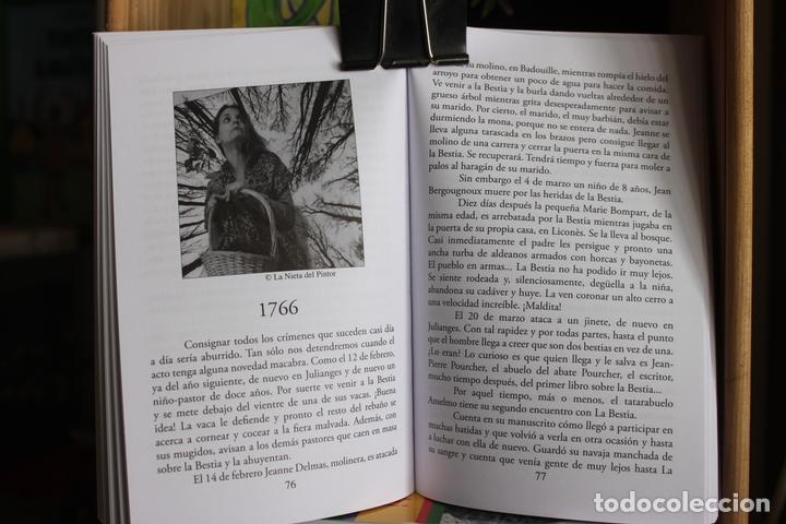 Libros antiguos: La Bestia (Del Gevaudan) (Una historia real) Antonio Ruiz Vega - Foto 3 - 171334083