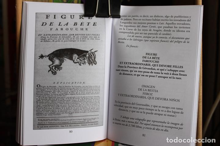 Libros antiguos: La Bestia (Del Gevaudan) (Una historia real) Antonio Ruiz Vega - Foto 4 - 171334083